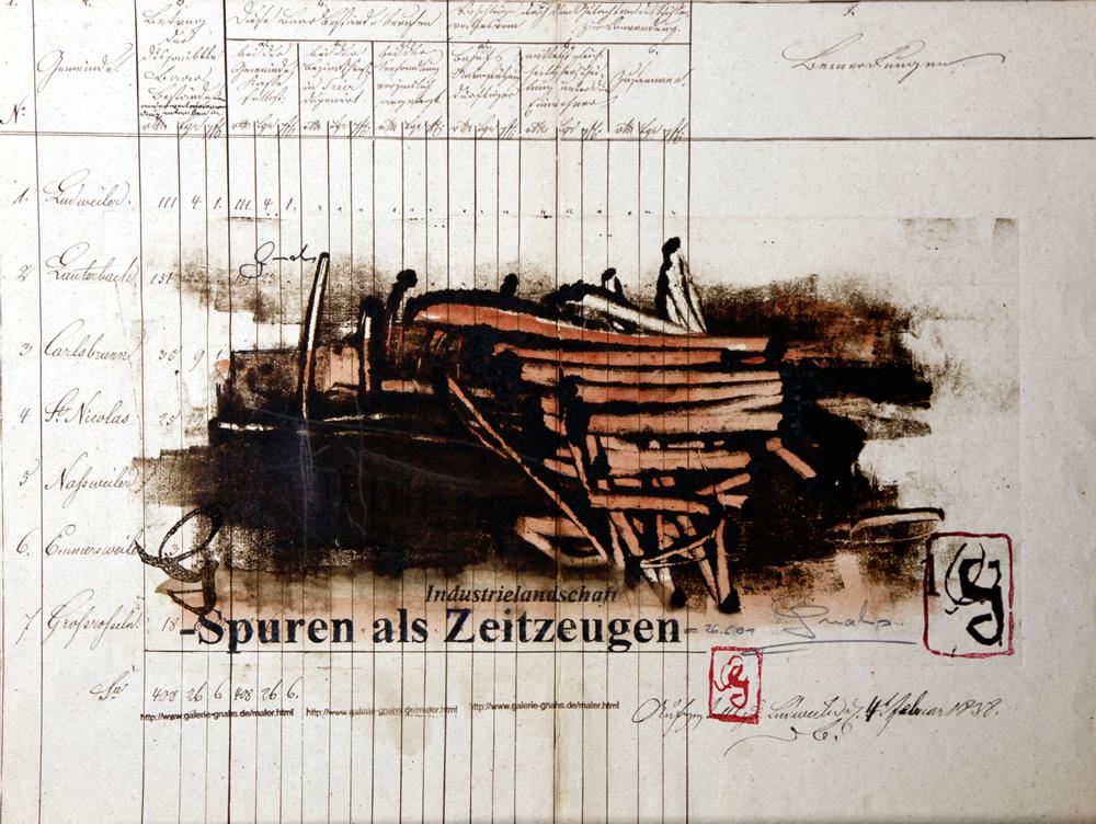 Spuren als Zeitzeugen 2001