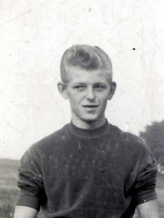 Eberhard Gnahs, junger Mann