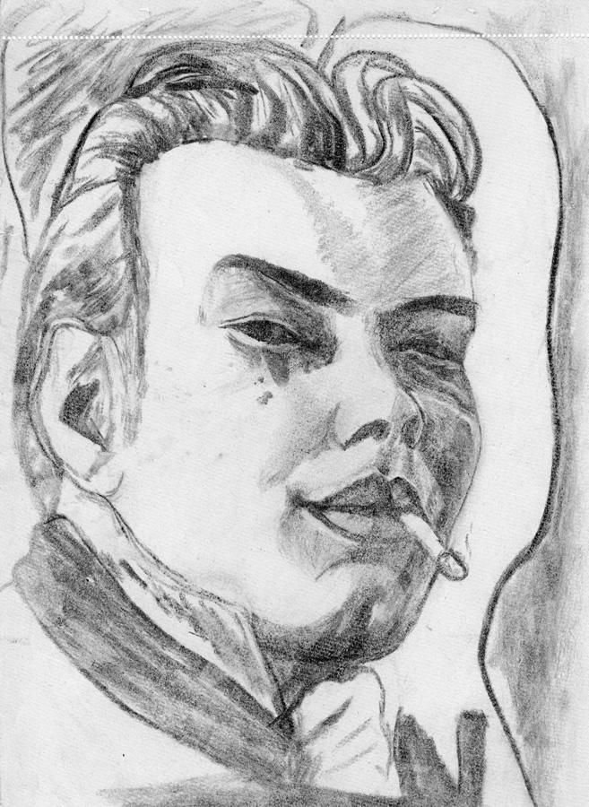 Portrait-Zeichnung Strassko