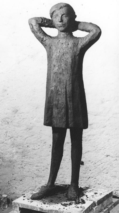 Jana, Steinguss, Höhe 120 cm