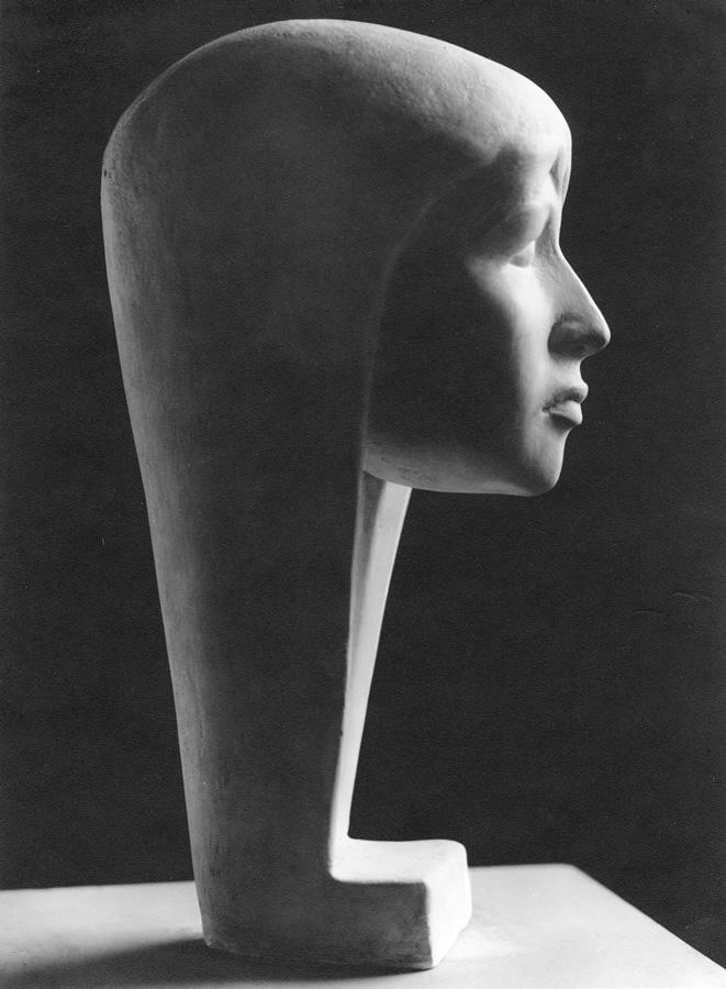 Natascha 1, Auftragsarbeit, Model für Bronzeguss, 50 cm, heute Verona