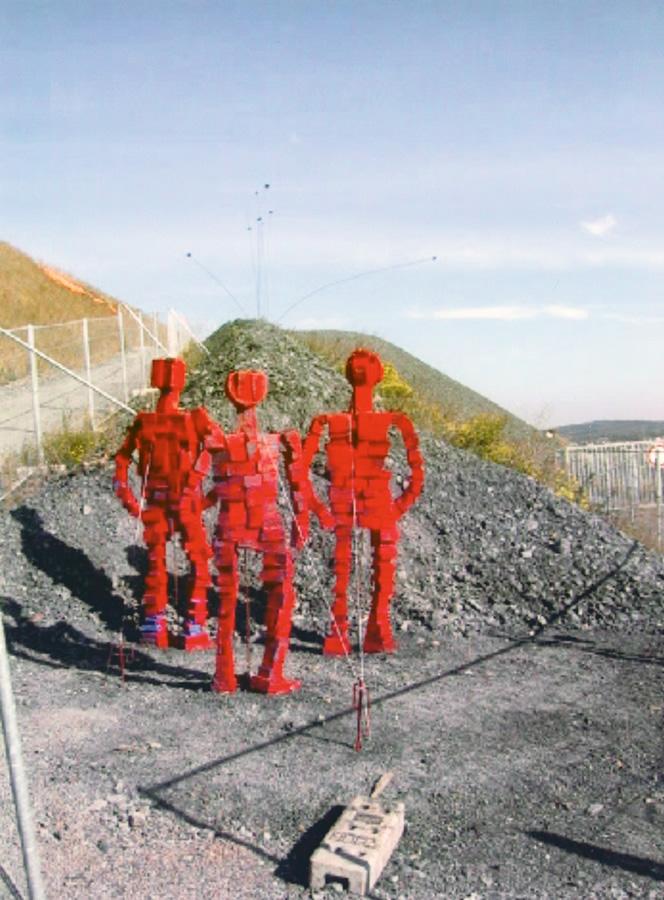 Kunst auf Halde, Bergehalde Bergwerk Ensdorf
