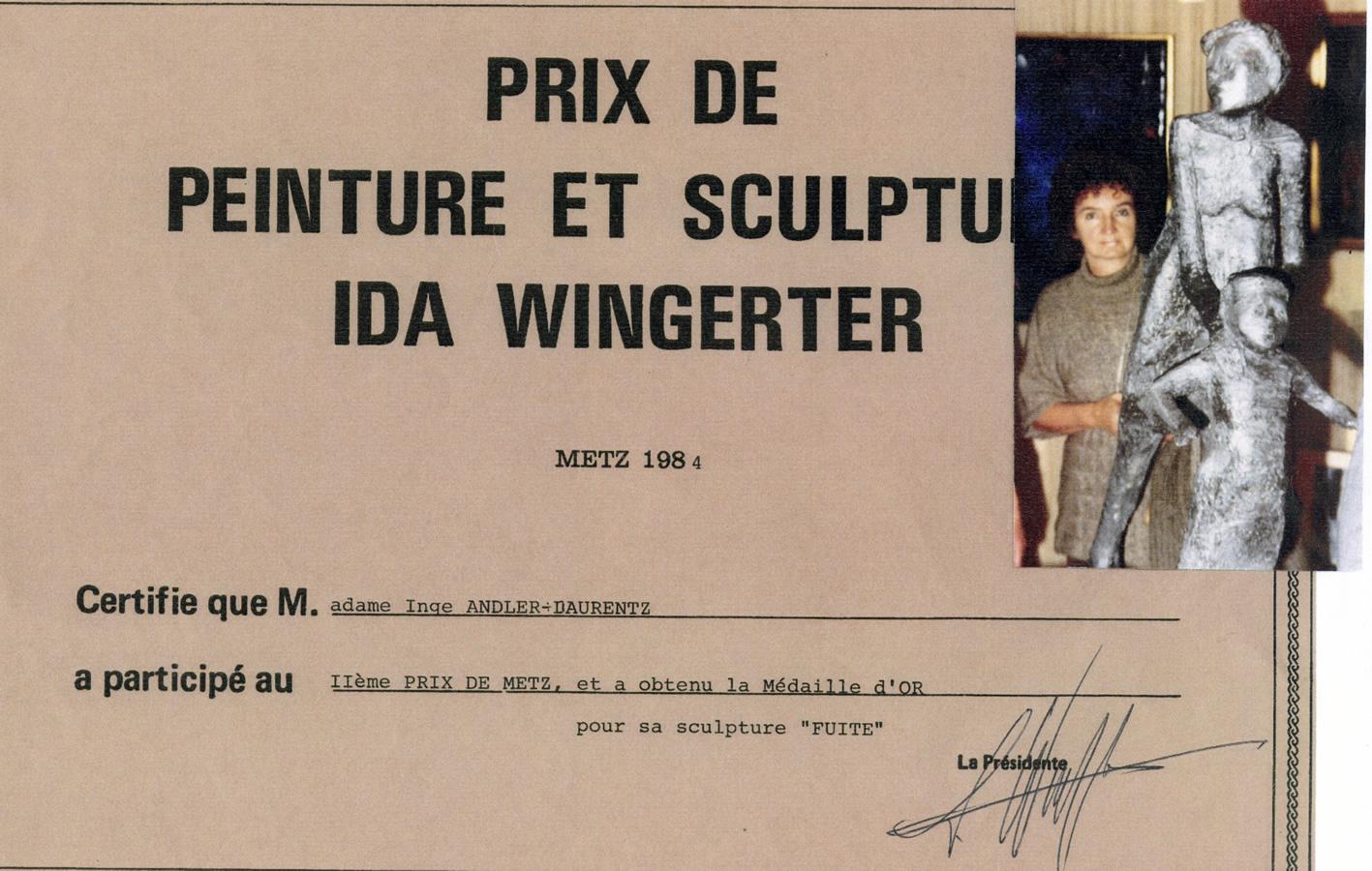 Prix de Peinture et sculpture, Metz 1984