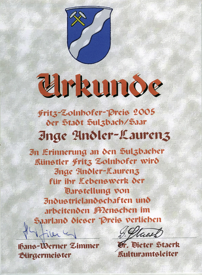 Fritz-Zollenhofer-Preis, Sulzbach 2005