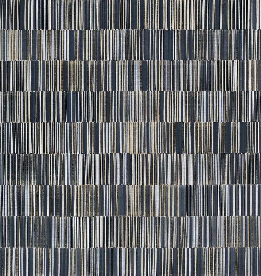 Nikola Dimitrov, KlangRaum I, 2013, Pigmente, Bindemittel, Lösungsmittel auf Leinwand, 180 × 170 cm
