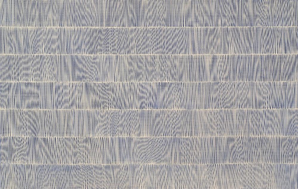 Nikola Dimitrov, Nocturne III, 2012, Pigmente, Bindemittel, Lösungsmittel auf Leinwand, 140 × 220 cm