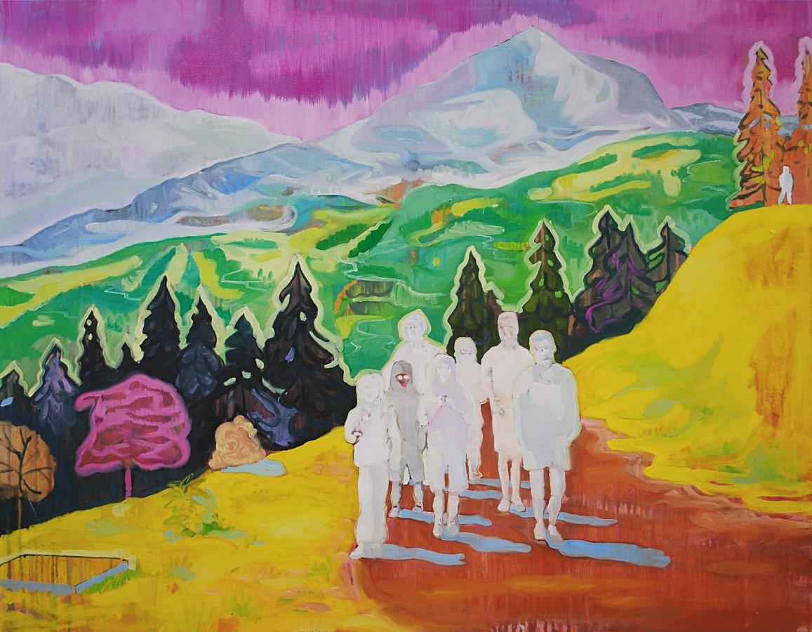"""Ohne Titel (""""Gruppe vor Idyll""""), 2012"""